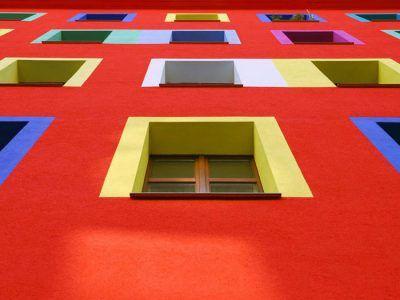 رنگ های نمای سیلیکونی